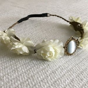 Vintage Style Flower Crown